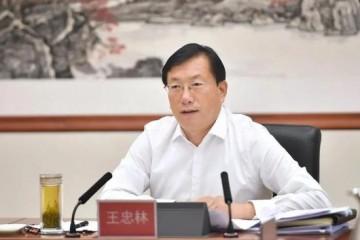 王忠林任湖北代省长王晓东辞任